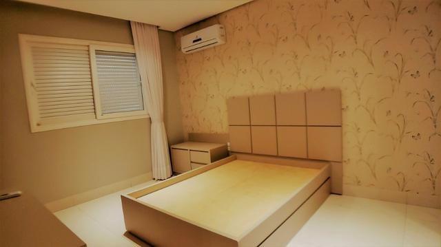 Sobrado 4 Suítes + Escritório, 351 m², semi mobiliado, c/ lazer na 404 Sul - Alto Padrão - Foto 8