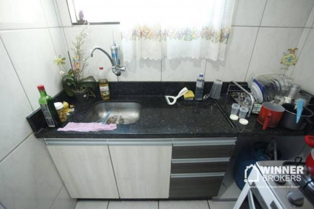 Apartamento com 2 dormitórios à venda, 53 m² por R$ 160.000,00 - Vila Bosque - Maringá/PR - Foto 7