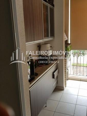Excelente apartamento 3 quartos Bosque das Caviunas, 02 vagas e lazer completo - Foto 8