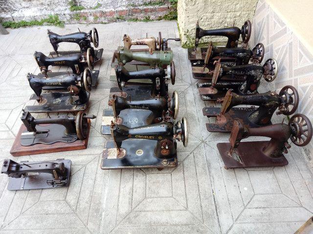 Máquinas de costura Antigas - Foto 4