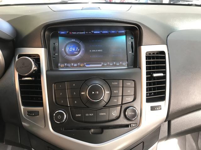 Chevrolet Cruze Sedã 2014 - GNV- IPVA 2020 ok - Automático - Banco em couro - Foto 5