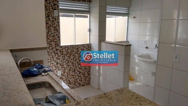 Apartamento com 2 dormitórios à venda, 70 m² por R$ 200.000,00 - Atlântica - Rio das Ostra - Foto 17