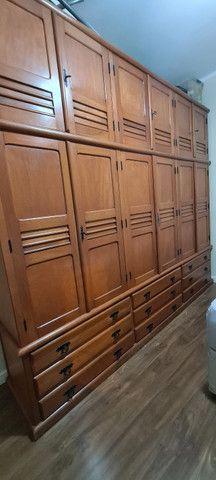 Quarto madeira maciça completo