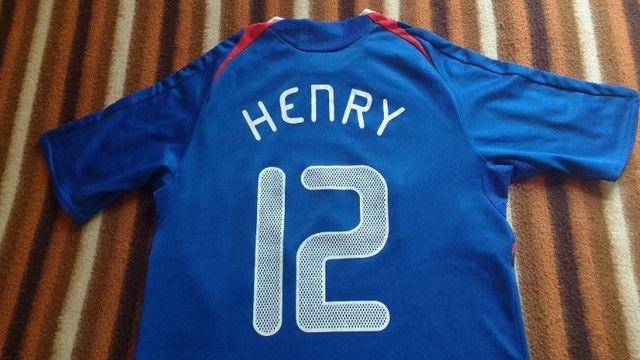 Camisa França Henry 07/08 - Foto 3