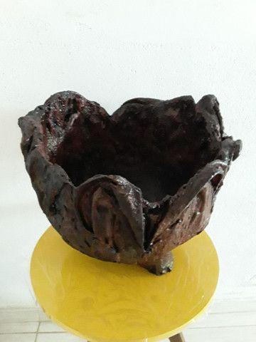 Vaso de Tecido com Cimento Resinado RF02 - Foto 3