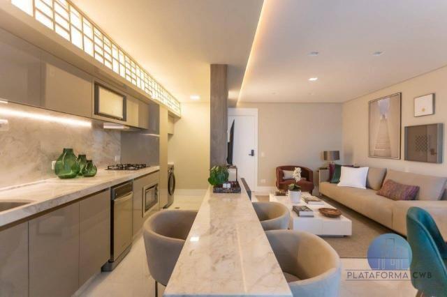 Apartamento com 2 dormitórios à venda por R$ 780.700,00 - Mercês - Curitiba/PR - Foto 9