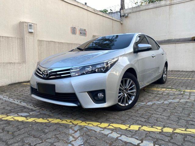 Toyota Corolla XEI Blindado 2017 baixa km! Raridade!