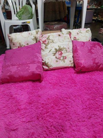 Tapete rosa para sala, 2x1.40 cm , super macio