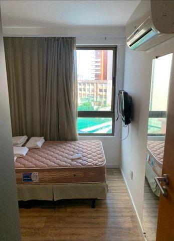 Beach Class Residence: 2 quartos, mobiliado, com lazer na Av. Boa Viagem - Foto 20