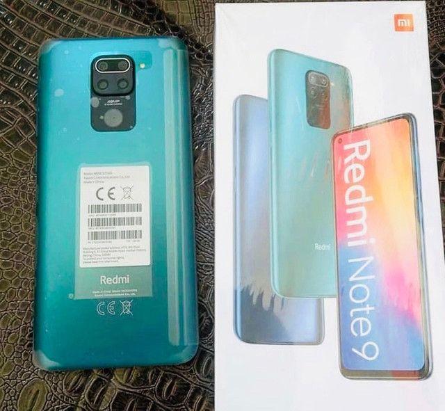 O mais top da Xiaomi redmi Note 9 64gb Verde green novo lacrado 3 meses de garantia - Foto 3