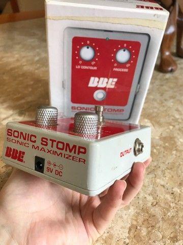 Pedal BBE sonic stomp maximizer (equalizador, compressor) - Foto 3