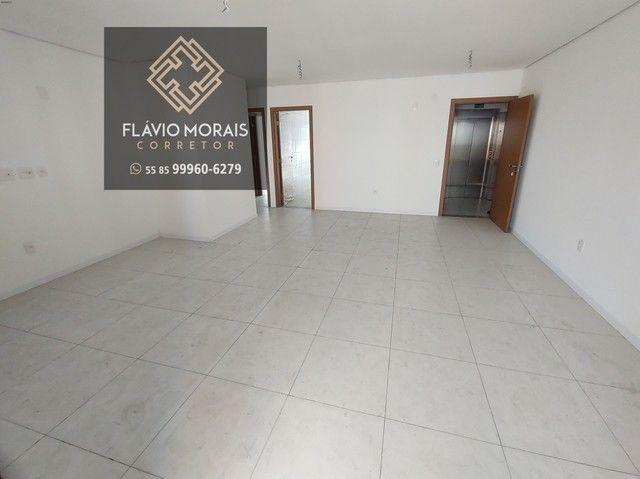 Apartamento 118 metros com vista mar no Meireles - Fortaleza - Ceará. - Foto 3