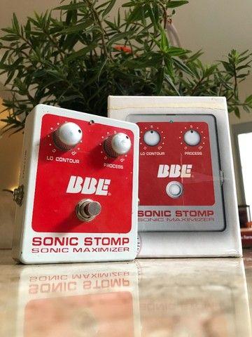 Pedal BBE sonic stomp maximizer (equalizador, compressor)