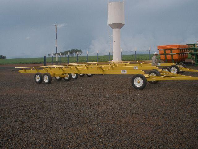 Carreta agrícola transporte de plataforma - Foto 3