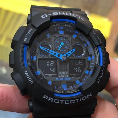 f34c591a88c Relogio Casio G-Shock Camuflado Original - Bijouterias