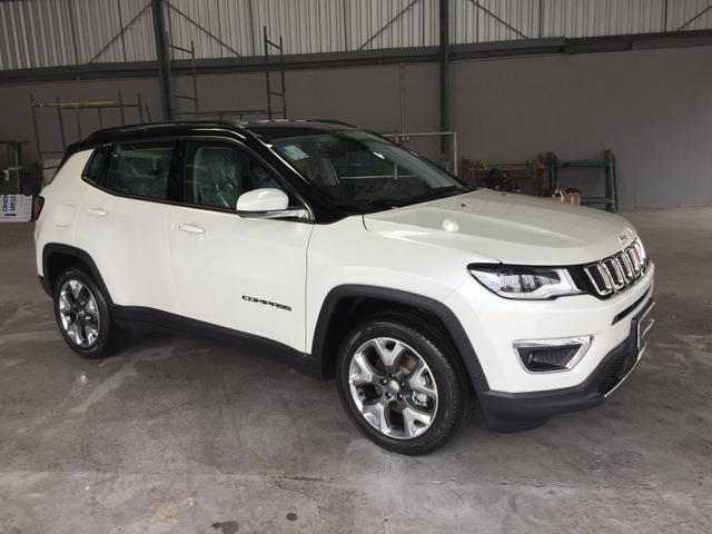 Jeep Compass Limited 17/18 OKM (Já emplacado)