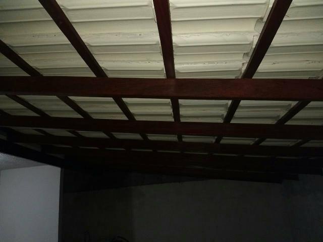 Troca de telhado e impermeabilizacao dividimos no cartao