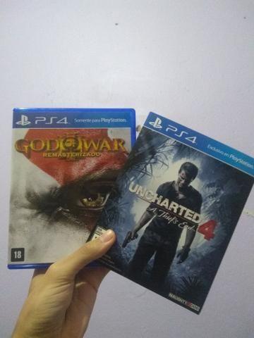 God of war 3/ uncharted 4