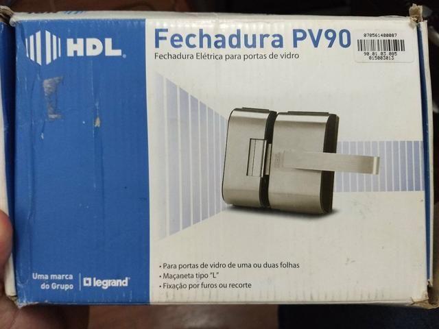 Fechadura PV 90 HDL cromada