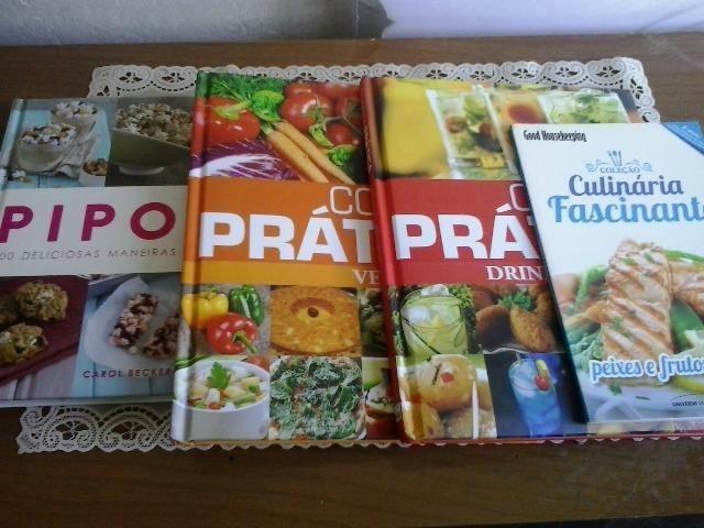 Kit livros de gastronomia