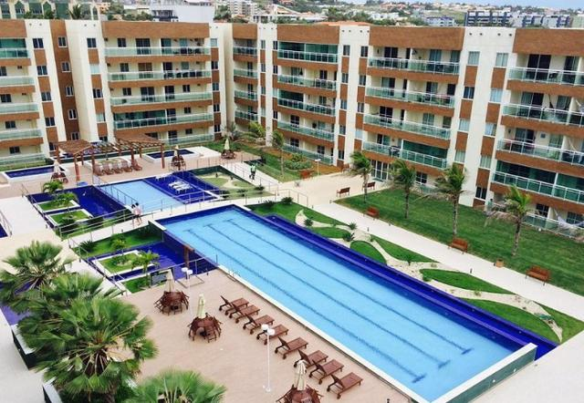 Vg Fun, apartamento com vista mar na Praia do Futuro, 3 quartos, 2 vagas, lazer completo