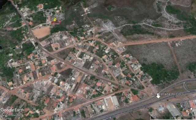 Vende Terreno 773m2 em Coqueiro de Arembepe - Escriturado - BA