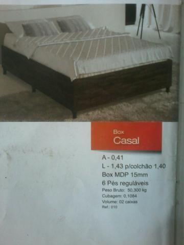 Promocao box base de solteiro 195,00 no dinheiro NA CAIXA (NOVO) ENTREGA E MONTAGEM GRATIS - Foto 3