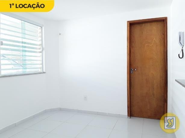 Apartamento para alugar com 1 dormitórios em Cidade dos funcionários, Fortaleza cod:50386 - Foto 5