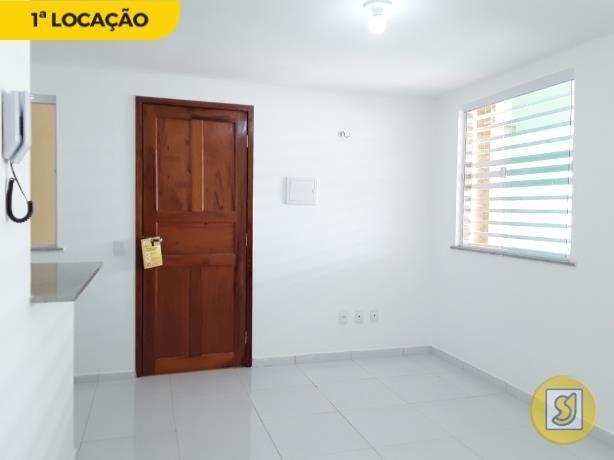 Apartamento para alugar com 1 dormitórios em Cidade dos funcionários, Fortaleza cod:50386 - Foto 2