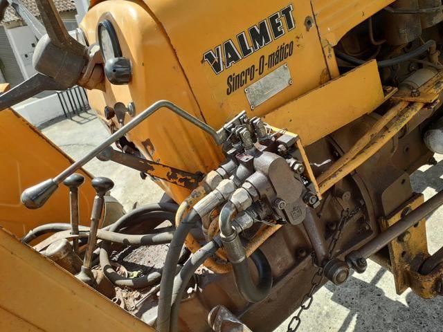 Valmet 65 id com hidráulico dianteiro para lamina - Foto 3