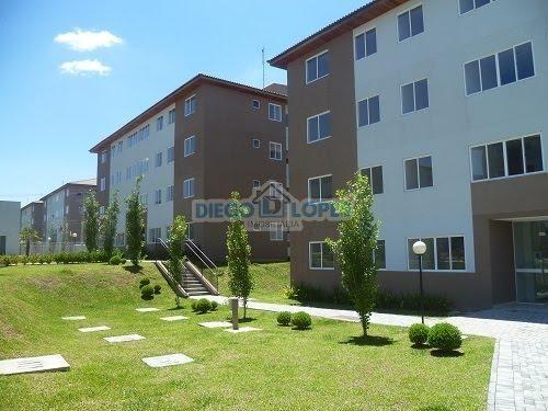 Apartamento à venda com 3 dormitórios em Cidade industrial, Curitiba cod:937 - Foto 2