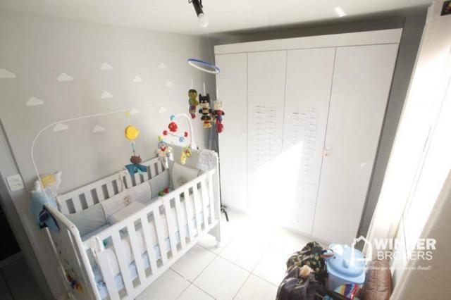 Apartamento com 2 dormitórios à venda, 53 m² por R$ 160.000,00 - Vila Bosque - Maringá/PR - Foto 12