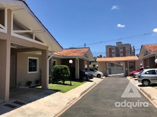 Casa em condomínio com 2 quartos no Residencial Ebenezer - Bairro Estrela em Ponta Grossa
