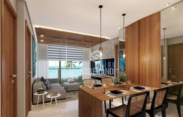 Apartamento com 1 dormitório à venda, 39 m² por R$ 240.000 - Intermares - Cabedelo/PB - Foto 4