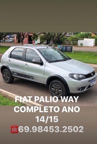 FIAT PALIO WAY COMPLETO Ano 14/15 - Foto 10