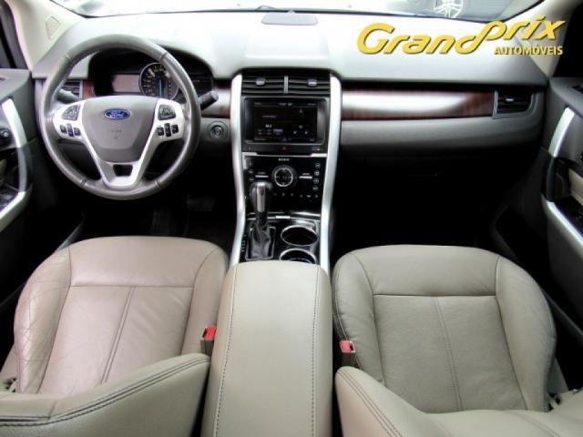 EDGE 2013 3.5 V6 GASOLINA LIMITED AWD AUTOMÁTICA BRANCA COMPLETA ÚNICO DONO! - Foto 7