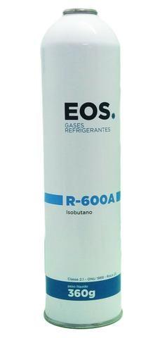 Gás R600a Refrigerante EOS Lata 360g P/ Refrigeração