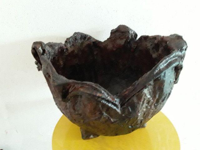 Vaso de Tecido com Cimento Resinado RF02 - Foto 2