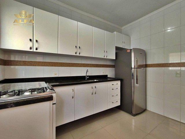 Sobrado na praia, 3 dormitórios, 1 suíte, 1 vaga, Espaço gourmet, Tombo, Guarujá. - Foto 7