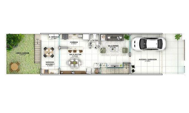 IMO.791 Casa para venda Jardim Belvedere-Volta Redonda, 3 quartos - Foto 3