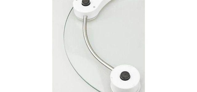 Balança Digital Corporal Vidro Temperado Banheiro Academia 180Kg 0640 - Foto 4