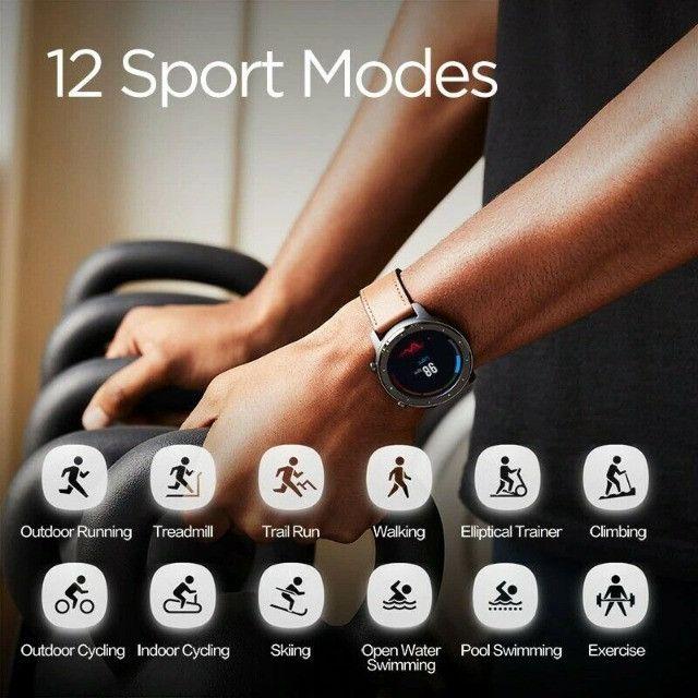 Oferta!! Relógio Smartwatch Xiaomi Amazfit GTR Original GPS Global C/ Garantia Em Até 18x - Foto 5