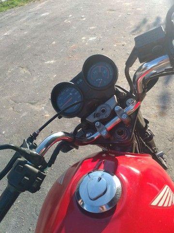 Titan 150 CG vermelha  - Foto 4
