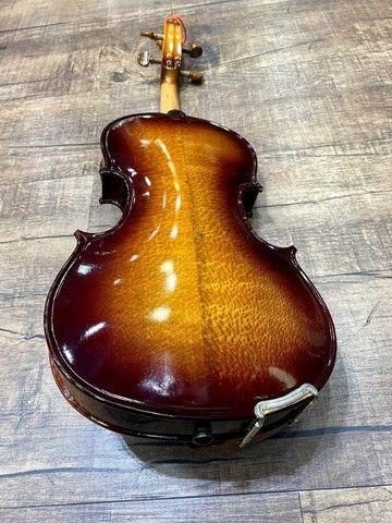 Violino 4/4 Rolim premium Serie limitada madeira Araucaria Sombrear Brilho Orquestra Ccb - Foto 2
