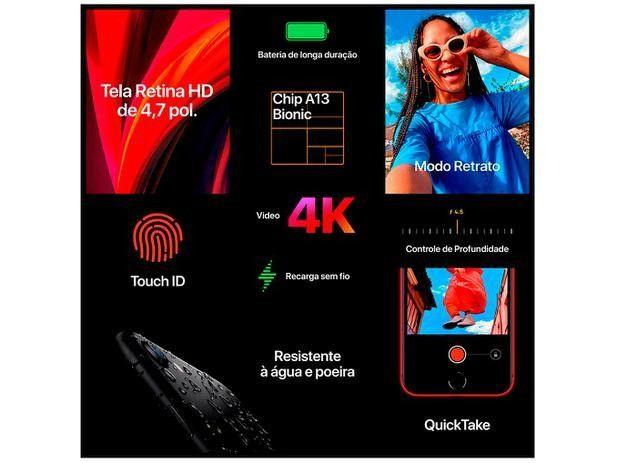 IPhone SE é o iPhone de 4,7 polegadas. Ele vem com o chip A13 - Foto 4