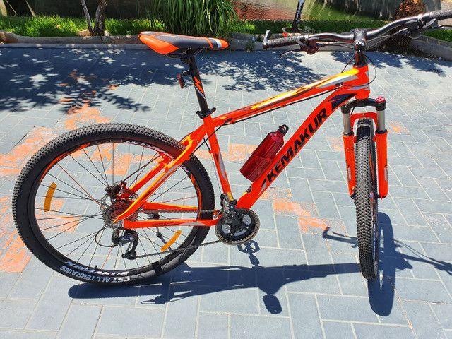 Bicicleta Kemakur na cor laranja, marca italiana, bike Nova, nunca usada - Foto 2