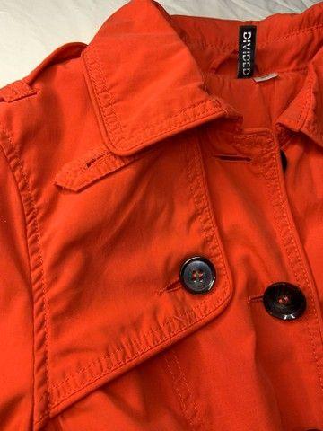 Trench coat laranja h&m  - Foto 5
