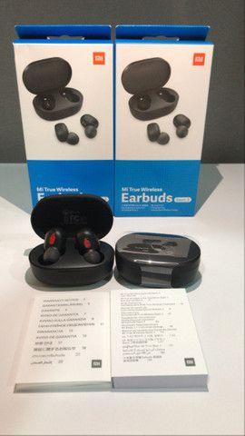 Super Promoção Fone de ouvido bluetooth Redmi Airdots 2 Lançamento, Original e Novo - Foto 2