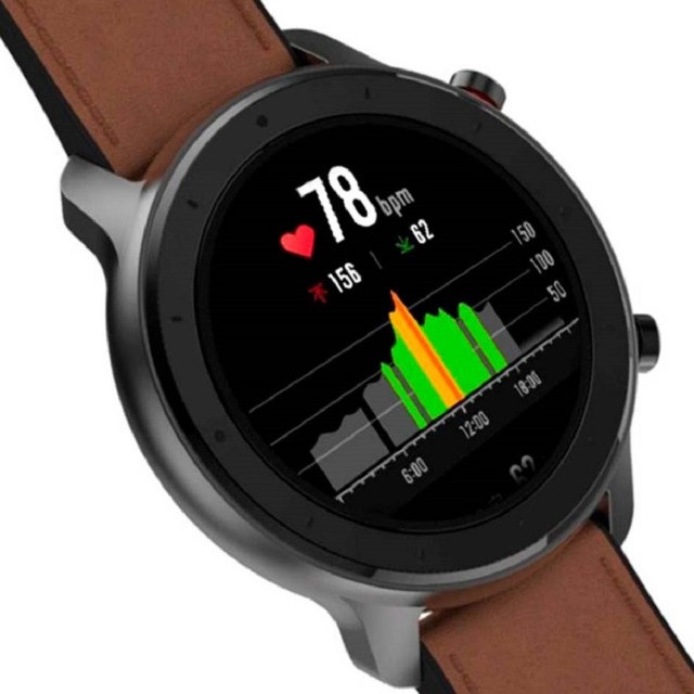 Oferta!! Relógio Smartwatch Xiaomi Amazfit GTR Original GPS Global C/ Garantia Em Até 18x - Foto 6