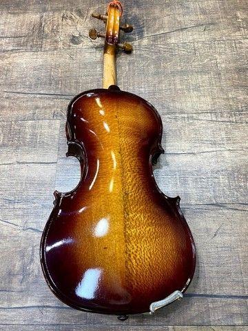 Violino 4/4 Rolim premium Serie limitada madeira Araucaria Sombrear Brilho Orquestra Ccb - Foto 5